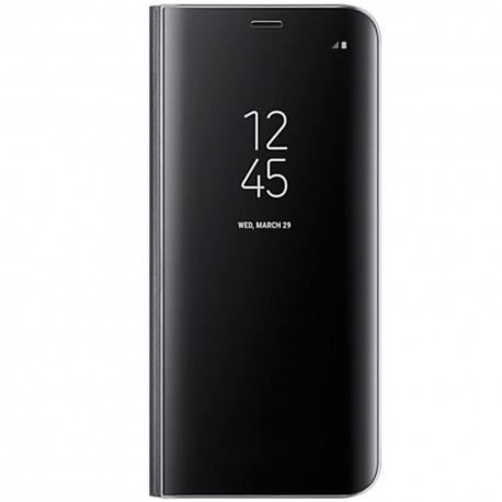 Book Clear View Standing Cover Samsung Pentru Samsung Galaxy S8 - Negru