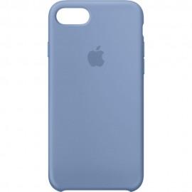 Capac Protectie Spate Apple Din Silicon Pentru iPhone 7 - Albastru Deschis