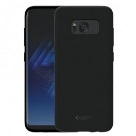 Capac Protectie Spate Cellara Din Silicon Colectia Soft Pentru Samsung S8 Plus - Negru