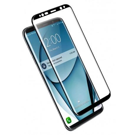 Folie Protectie Ecran Sticla 3d Cellara Pentru Samsung Galaxy S8 Plus - Negru
