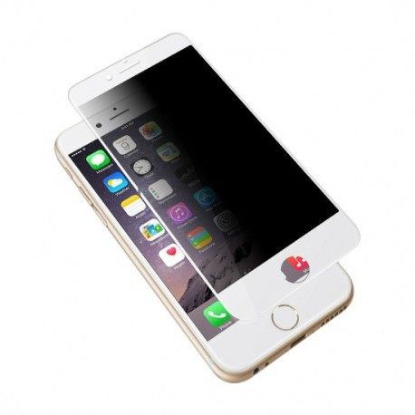 Folie Protectie Ecran Sticla 3d Privacy Cellara Pentru Iphone 6/6s - Alb