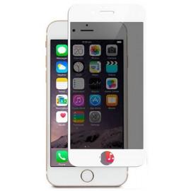 Folie Protectie Ecran Sticla 3d Privacy Cellara Pentru iPhone 7 - Alb