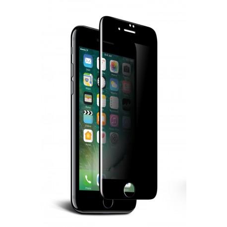 Folie Protectie Ecran Sticla 3d Privacy Cellara Pentru Iphone 7 Plus - Negru