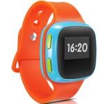 Smartwatch Alcatel Sw 10 Pentru Copii, Sim, Tracker - Portocaliu/albastru
