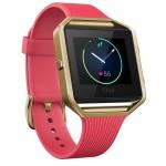 Smartwatch Fitness Fitbit Blaze Gold Marimea L - Roz