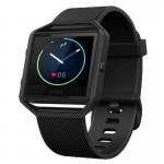 Smartwatch Fitness Fitbit Blaze Gunmetal Marimea L - Negru