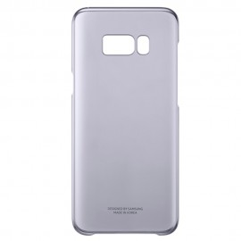 Capac Protectie Spate Samsung Transparent Pentru Samsung Galaxy S8 - Mov
