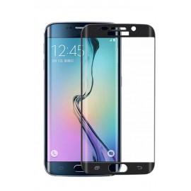 Folie Protectie Ecran Sticla 3d Cellara Pentru Samsung Galaxy S6 Edge - Negru