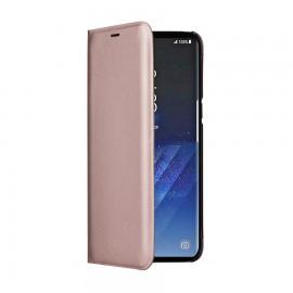 Book Cellara Colectia Attitude Pentru Samsung Galaxy S8 - Roz Auriu