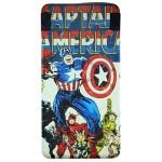 Baterie Externa Marvel Captain America Capacitate 6000 Mah