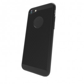 Capac Protectie Spate Cellara Colectia Dots Pentru iPhone 7 - Negru