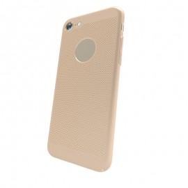 Capac Protectie Spate Cellara Colectia Dots Pentru iPhone 7 - Auriu