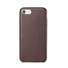 Capac Protectie Spate Cellara Colectia Gentle Pentru iPhone 7 - Bronz Metalic