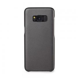 Capac Protectie Spate Cellara Colectia Gentle Pentru Samsung Galaxy S8 - Negru Metalic