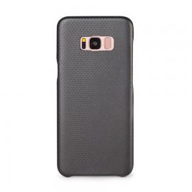 Capac Protectie Spate Cellara Colectia Gentle Pentru Samsung Galaxy S8 Plus - Negru Metalic