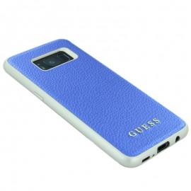 Capac Protectie Spate Guess Pentru Samsung S8 Colectia Iridescent - Albastru