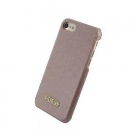 Capac Protectie Spate Guess Pentru iPhone 7 Colectia Saffiano - Roz