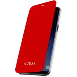Book Guess Pentru Samsung S8 Plus Colectia Iridescent - Rosu