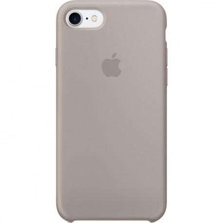 Imagine indisponibila pentru Capac Protectie Spate Apple Din Silicon Pentru Iphone 7 - Mov