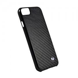 Capac Protectie Spate Bmw Carbon Fibre Pentru Iphone 7 - Negru