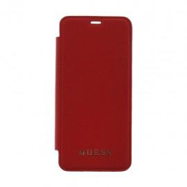 Book Guess Pentru Samsung S8 Colectia Iridescent - Rosu