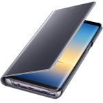 Book Clear View Standing Cover Samsung Pentru Samsung Galaxy Note 8 - Violet