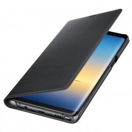 Book Led View Samsung Pentru Samsung Galaxy Note 8 - Negru