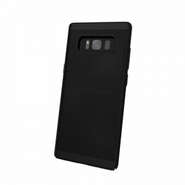 Capac Protectie Spate Cellara Colectia Dots Pentru Samsung Galaxy Note 8 - Negru