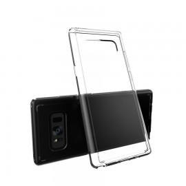 Capac Protectie Spate Cellara Colectia Crystal Pentru Samsung Galaxy Note 8 - Transparent