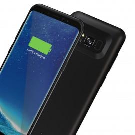 Capac Spate Cellara Cu Baterie Exetrna Incorporata Colectia Booster Pentru Samsung S8 - Negru