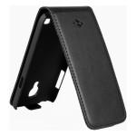 Husa Flip Mobiama pentru Samsung Galaxy S4 Mini - Negru