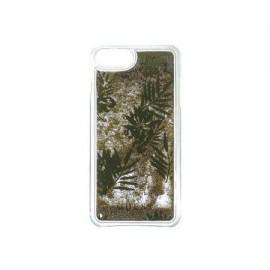 Capac Protectie Spate Guess Pentru iPhone 7/6S/6 Colectia Liquid Glitter Palm Spring - Auriu