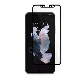 Folie Protectie Ecran Sticla 2.5 Mobiama Pentru iPhone X - Negru