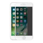 Folie Protectie Ecran Sticla 3D Cellara Pentru iPhone 7 Plus/8 Plus- Alb