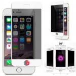 Folie Protectie Ecran Sticla 3D Privacy Cellara Pentru iPhone 7/8 - Alb