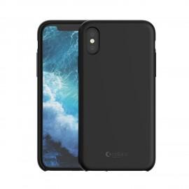 Capac Protectie Spate Cellara Din Silicon Colectia Soft Pentru iPhone X - Negru