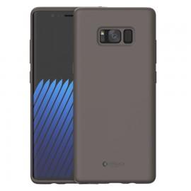 Capac Protectie Spate Cellara Din Silicon Colectia Soft Pentru Samsung Galaxy Note 8 - Maro
