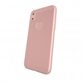 Capac Protectie Spate Cellara Colectia Dots Pentru iPhone X - Roz Auriu