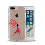 Capac Protectie Spate Cellara Colectia Inimi Pentru Iphone 6 Plus/7 Plus/8 Plus