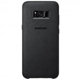 Capac Protectie Spate Samsung Alcantara Cover Pentru Samsung Galaxy S8 - Gri
