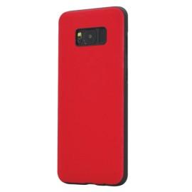 Capac Protectie Spate Cellara Colectia Classic Pentru Samsung S8 - Rosu