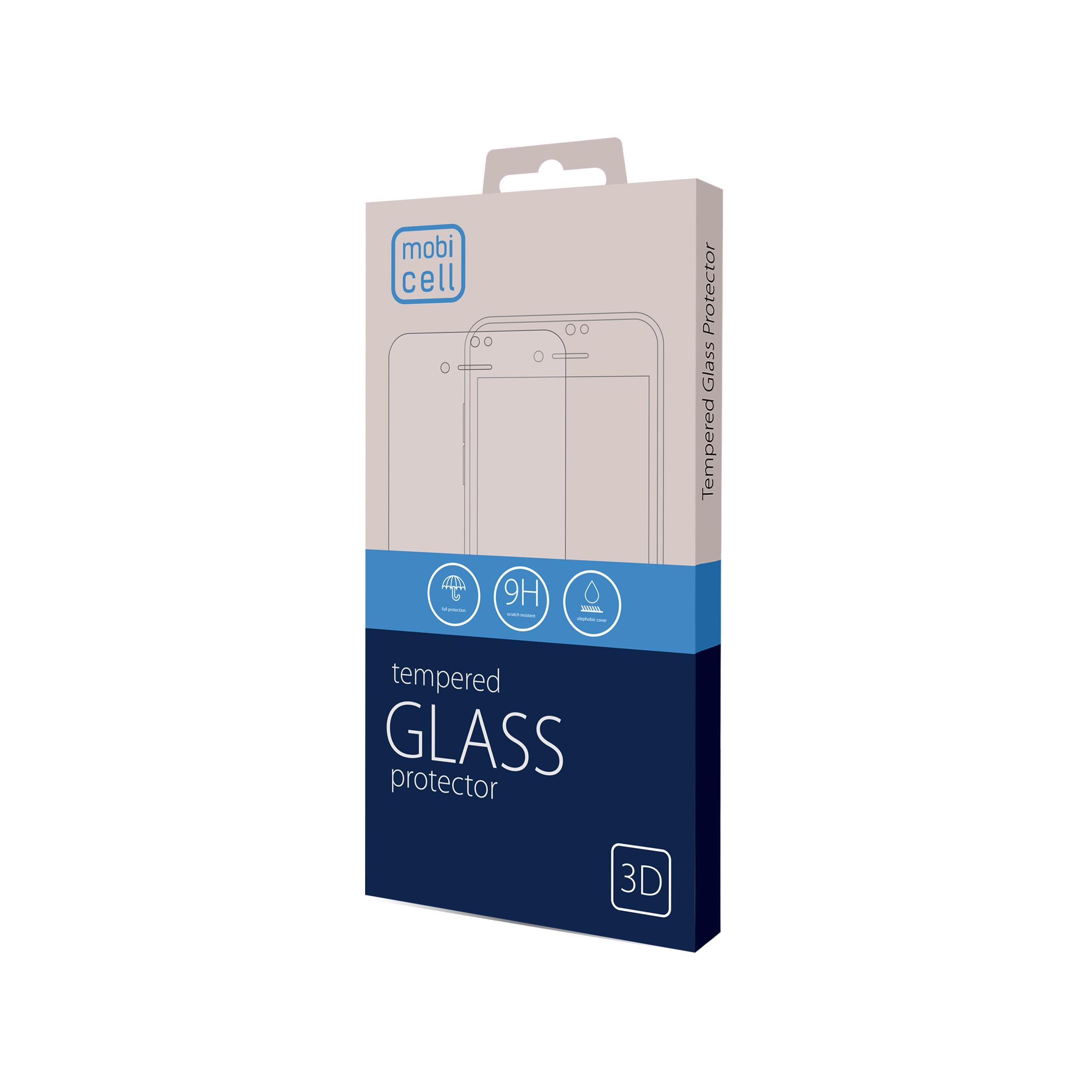 Folie protectie 3d full cover pentru iphone 12 pro max - negru