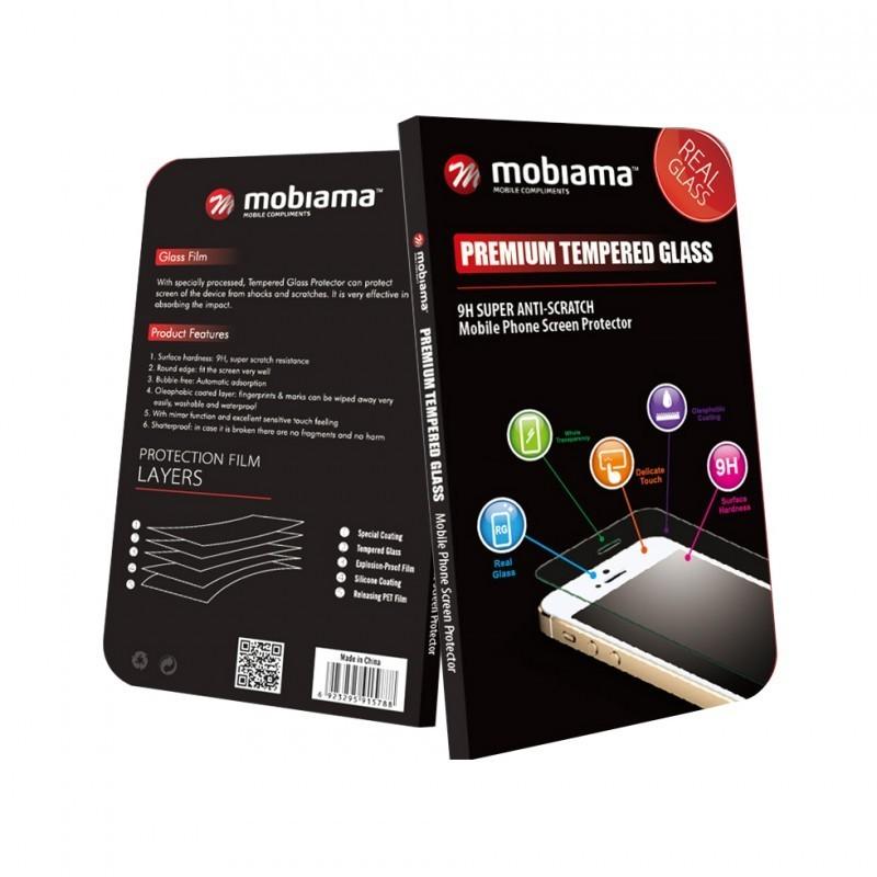 Folie protectie ecran sticla 2.5 mobiama pentru huawei p20 pro - negru
