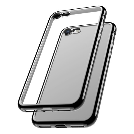 Capac protectie spate cellara colectia electro pentru iphone 7/8/se2 - negru