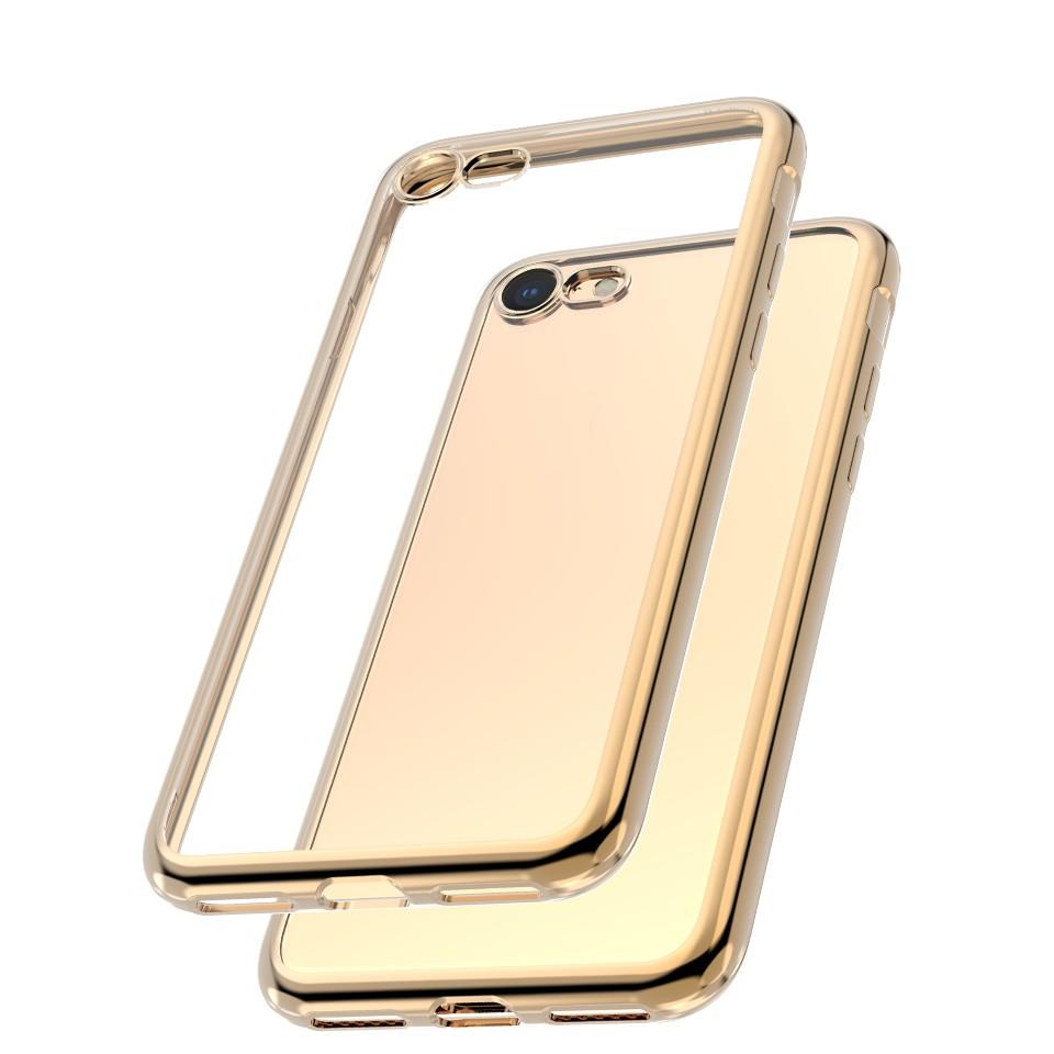 Capac protectie spate cellara colectia electro pentru iphone 7/8/se2 - auriu