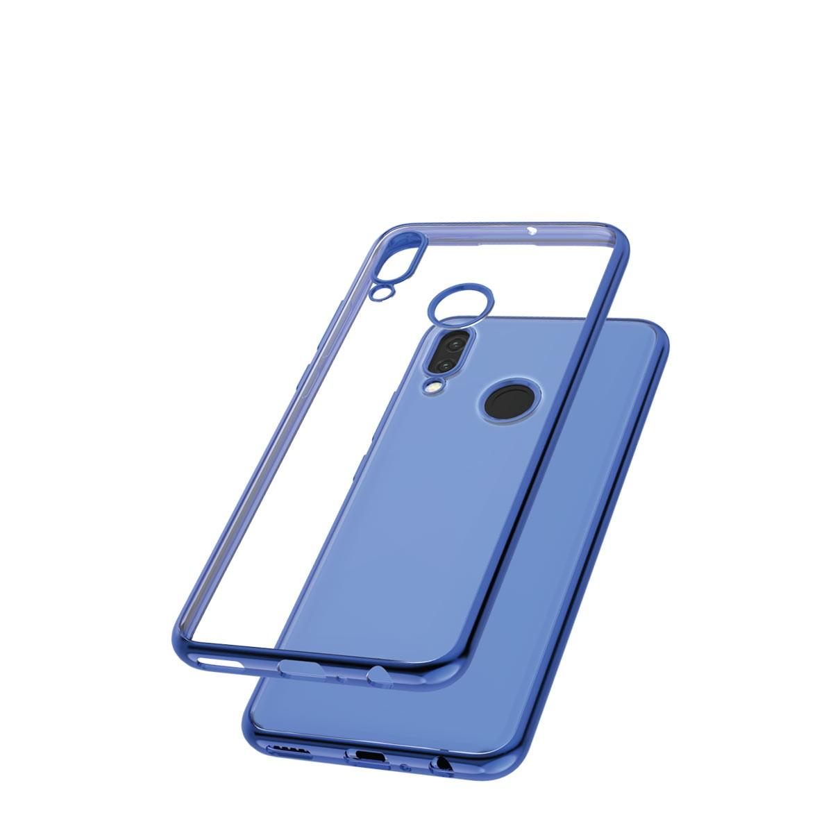 Capac protectie spate cellara colectia electro pentru huawei p smart 2019 - albastru