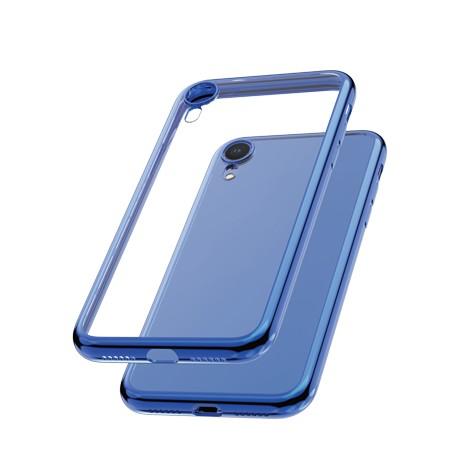 Capac protectie spate cellara colectia electro pentru iphone xr - albastru