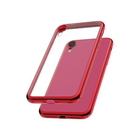 Capac protectie spate cellara colectia electro pentru iphone xr - rosu