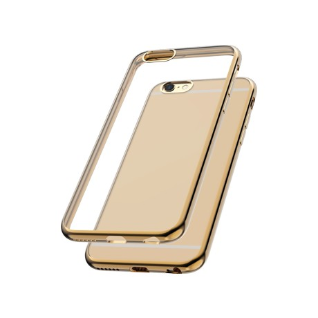 Capac protectie spate cellara colectia electro pentru iphone 6/6s - auriu