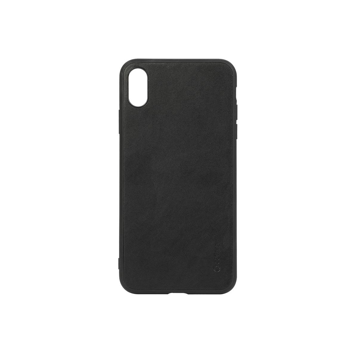 Capac protectie spate cellara colectia signature pentru iphone xs max - negru